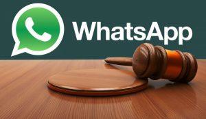 Condiciones legales WhatsApp